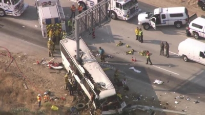 Bus Crash in Merced, California, Kills Four People