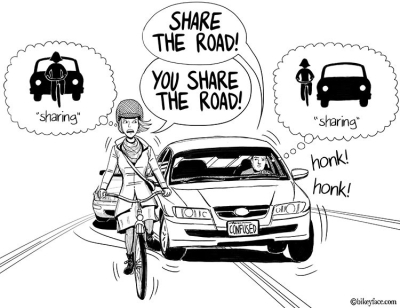 Sharing the Road with Bicyclists