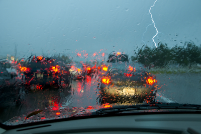 Riding Out the Storm: Driving Safely in Strong Wind and Rain