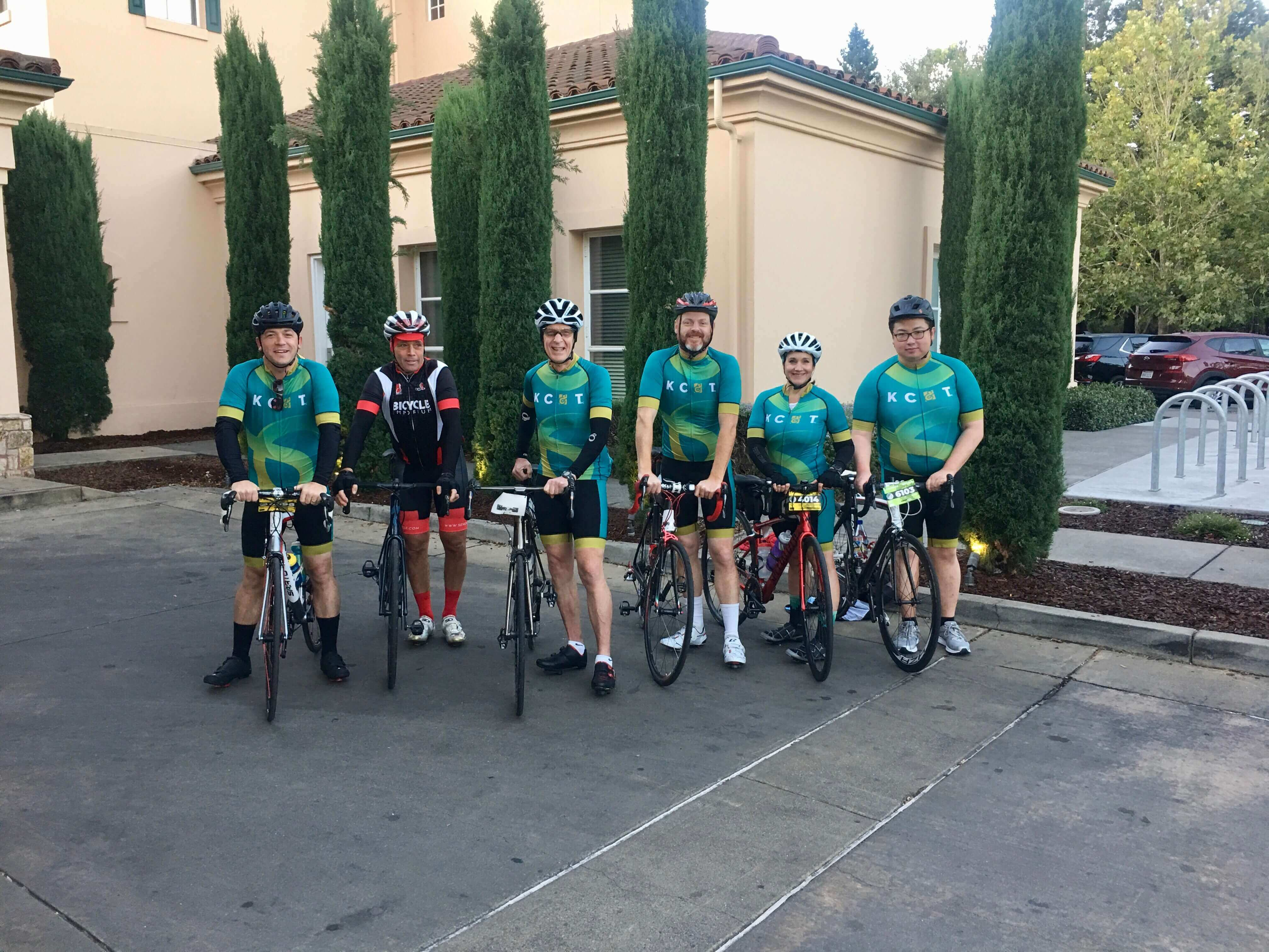 Kershaw, Cook & Talley Rides in Levi's Gran Fondo for At-Risk Youth
