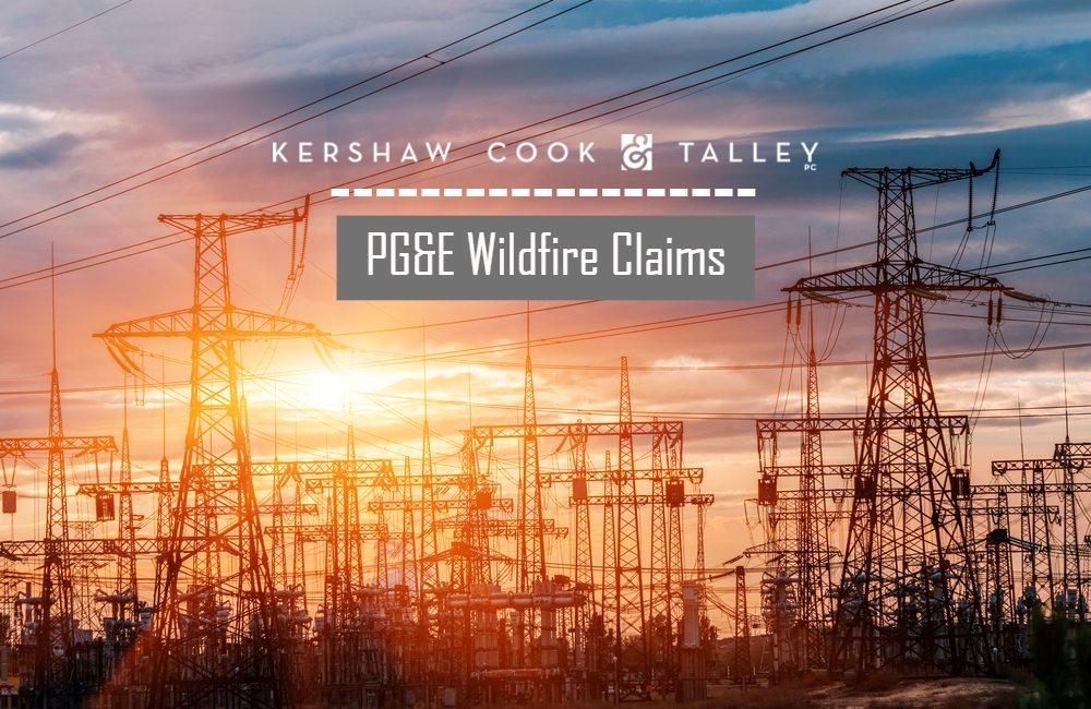 Judge Rules Victims of Northern California Wildfires Must File Claims Before October 21st, Amidst Pacific Gas and Electric Company Bankruptcy